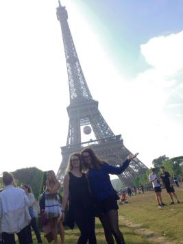 We made it to the Tour Eiffel!