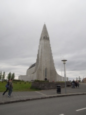 The famous Hallgrimskirkja