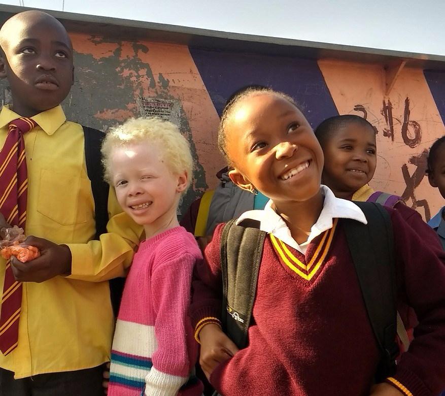 School kids in Kliptown